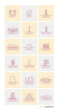 Landmark Icons Excerpt
