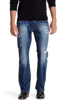 "Seven7 Luxury Denim Flap Pocket Slim Boot Jean - 30-34"" Inseam"