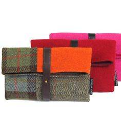 HARRIS TWEED CLUTCH - Catherine Aitken