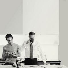 Mike and Harvey. Suits #suits