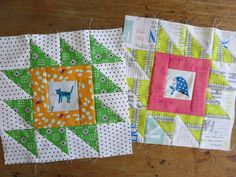 catandvee: .: Sew Sisters Bee - blocks for Gina :.