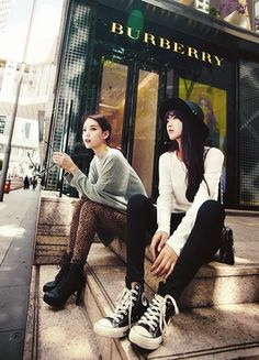 #Korean Fashion #Ulzzang Models