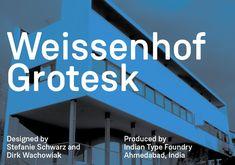 Neue Schrift von Stefanie Schwarz und Dirk Wachowiak // Weißenhofsiedlung // via…