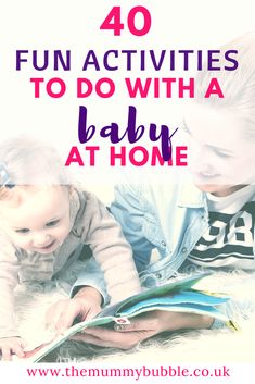 Co parenting quotes. wondering what to do with your baby all day? here are 40 fun activities to try at home Bonding Activities, Fun Activities To Do, Infant Activities, Parenting Quotes, Parenting Advice, Kids And Parenting, Parenting Classes, Newborn Baby Tips, Thing 1