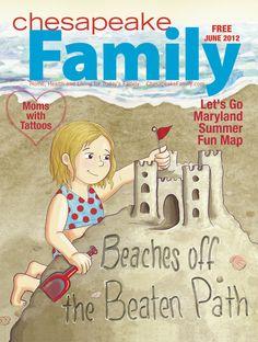 June 2012 Chesapeake Family Magazine cover