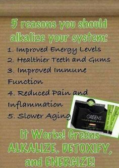 I LOVE the IT WORKS! Greens!  Ask me about it. www.AJourneyTowardsWellness. myitworks.com  or jodivoet@gmail.com