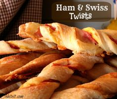 Ham & Swiss Twists!