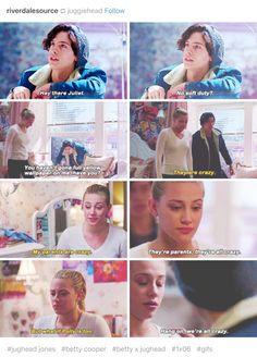 Riverdale - it's actually Nurse off duty? also ASDFVYHBJKNMSERDTFGHBJ$TYHJN