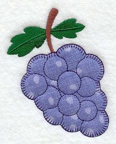 Grapes (Heirloom Applique)