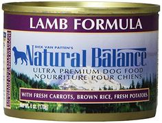 Natural Balance Ultra Premium Lamb Canned Dog Formula Case of 12 Cans6 Oz >>> Details can be found by clicking on the image. (This is an affiliate link)