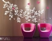 Black Friday Etsy - Free Shipping -Wall Decals Wall Sticker - Spring BranchTree wall decal 039. $79.00, via Etsy.