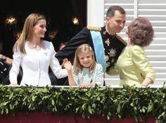 Official coronation ceremony of King Felipe VI  in Madrid.