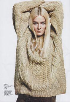 ♣ღღ♣ Irish Aran Sweaters