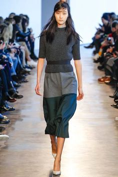 Theory | Fall 2014 Ready-to-Wear Collection | Style.com [Photo: Gianni Pucci / Indigitalimages.com]