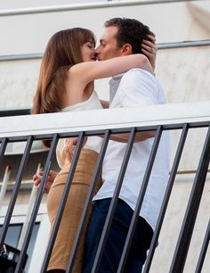 Jamie Dornan and Dakota Johnson are heating up Paris as they've been filming '50 Shades Darker' for several days now and photos show the pair
