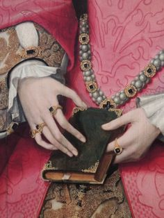 Elizabthe I when Lady Elizabeth  detail