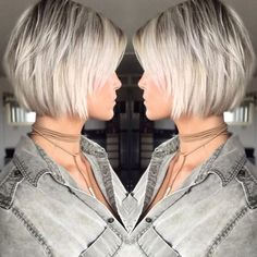 10 Amazing Daily Bob Hairstyles for 2019 # Hairstyles # Hair # Haircut . 10 Amazing Daily Bob Hairstyles for 2019 # Hairstyles # Hair # Haircut … Choppy Bob Hairstyles, Short Bob Haircuts, Straight Hairstyles, Bouffant Hairstyles, Haircut Bob, Blonde Haircuts, Med Haircuts, Short Layered Hairstyles, Graduated Bob Haircuts