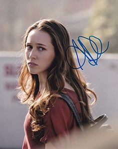 Alycia Debnam-Carey in-person autographed photo Fear The Walking Dead @ niftywarehouse.com #NiftyWarehouse #WalkingDead #Zombie #Zombies #TV