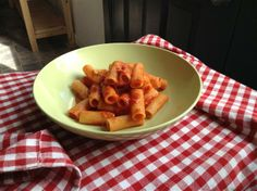 Five lessons; things I didn't know about pasta