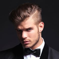 Any men's hairstyle can be formal as long as it is clean and clean cut.