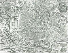 Paris - Plan de Vassalieu - 1609