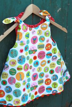 Reversible dress.