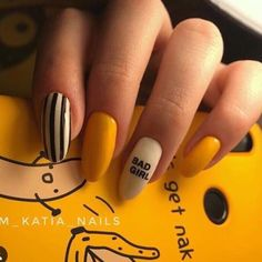 40 trendy stunning manicure ideas for short acrylic nails design 38 Aycrlic Nails, Nail Manicure, Swag Nails, Manicure Ideas, Stylish Nails, Trendy Nails, Fire Nails, Best Acrylic Nails, Dream Nails