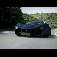 One word that sums up this Marussia B2 - 'Beast'