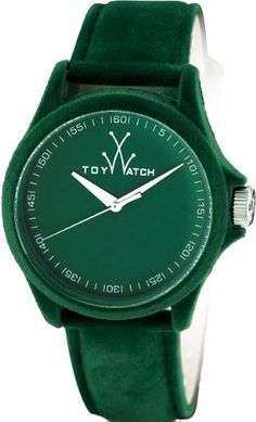 ToyWatch Womens PE04GR Sartorial Only Time Green Velvet Watch * Continue to the product at the image link.Note:It is affiliate link to Amazon. #photo