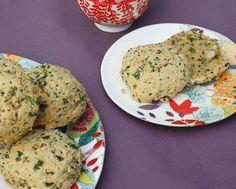 Veggie Quinoa Drop Biscuits from HealthySlowCooking.com #vegan