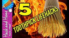 5 TRUCOS GENIALES CON PALILLOS DE DIENTES - 5 AWESOME LIFEHACKS WITH TOO... Lifehacks, Neon Signs, Chopsticks, Teeth, Hacks, Life Cheats, Life Hacks