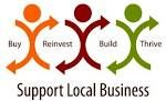 Promoting local Irish businesses...supporting local businesses in your area...shop local and support your local business