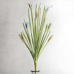 Faux Grass & Floral Bud Spray | Pier 1 Imports