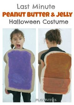 Super easy DIY Halloween costume. Could be used for siblings too