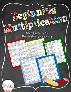 Teaching Multiplication FREEBIE!!!