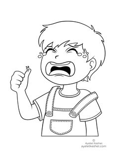 Free coloring pages about feelings Coloring Pages