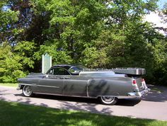 ✿1953 Cadillac Eureka Flower Car✿ Maintenance/restoration of old/vintage vehicles: the material for new cogs/casters/gears/pads could be cast polyamide which I (Cast polyamide) can produce. My contact: tatjana.alic@windowslive.com