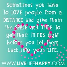 Or Kick them out the front door....LOL, THIS IS SO TRUE :) Always love yourself First and Everything else falls into place XOXO