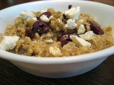 Mediterranean savory oatmeal and 5 other savory oatmeal recipes.