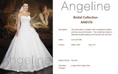 Lace Bodice, Bridal Collection, Bridal Dresses, One Shoulder Wedding Dress, Tulle, Lace Up, Gowns, Fashion, Bride Dresses