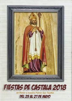 Entre los días 25 y 27 de mayo de 2017se celebran las fiestas patronales en honor a San Tesifón enCastala, en el municipio deBerja(Alpujarra de Almería).