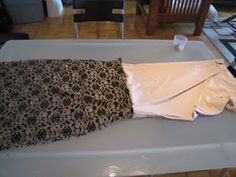 DIY lace skirt :: I'm not sure if I could actually do this . . .