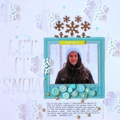 Let It Snow by amyscalze at @studio_calico