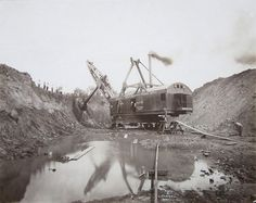 Mission Mining Co. - Marion Steam Shovel Co. Model 250, Marion, OH - Photo Taken by Campbell Studio, Danville, IL.