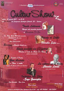 """PALCOSCENICO IN CAMPANIA.it: L'EVENTO - """"CulturShow in Tour"""", terzo appuntament..."""