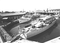 Trafalgar Wharf - 1952 Boat, Image, Dinghy, Boats, Ship