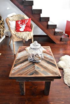 Handmade Industrial vintage farmhouse by MadeFromWoodDesigns