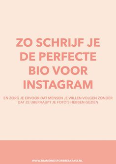 Wil je meer volgers op Instagram? Dan is een aantrekkelijke bio onmisbaar. Lees hier hoe je een goede bio voor Instagram maakt.