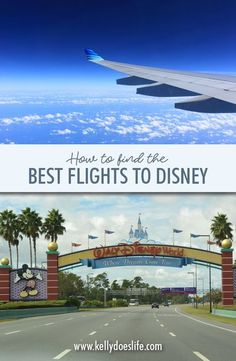 Flying to Walt Disney World or Disneyland and want to make sure you get the best deal? Are you not sure the best time to visit a certain destination? Do you just want to make sure you are getting the best flight deal possible? If you are looking for the b Disney On A Budget, Disney World Vacation Planning, Walt Disney World Vacations, Disney Planning, Vacation Ideas, Disney World Tips And Tricks, Disney Tips, Disney World Transportation, Best Flight Deals