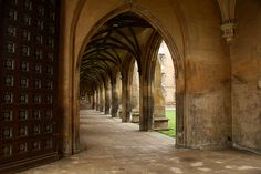 New Court cloisters, St John's College, Cambridge
